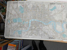 100% ORIGINAL LARGE SCALE PLAN OF LONDON  MAP BY WYLD C1861 SCARCE