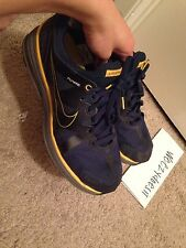 Nike Air Lunarmax +laf Cal Bears Sz 11.5 Lance Armstrong Retail 120 Blue Yellow