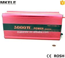 DC24V to AC220V 5000W Power Inverter Pure Sine Wave Off grid