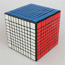 Shengshou Cube 10x10x10 Magic Speed Cube Ultra-Smooth White Twist Puzzle rubik