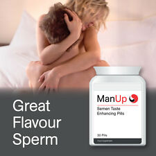 MAN UP SEMEN TASTING CAPSULES GREAT TASTE SPERM IMPROVE SEX SWEETNESS YUM