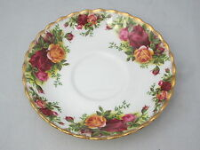 ROYAL ALBERT - Old Country Roses - England - SAUCER ONLY - 0109