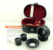 Prinzflex Multi Power Kit, incl 35mm lens, Teleconverter and Extension tube, M42