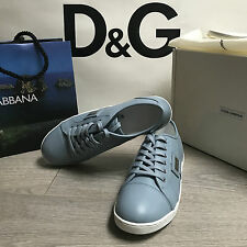 BNIB DOLCE & GABBANA Leather Sneakers Trainers RRP £135 UK 6 Eu 39 100% Genuine