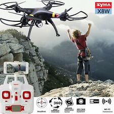 Syma X8W Explorers RC Quadcopter WiFi FPV 4CH 6-Axis Gyro Drone w/2MP Camera RTF