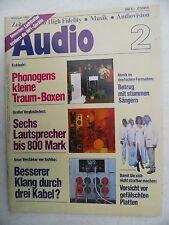 AUDIO 1/81 TOSHIBA SB 66,PHONOGEN CONCERT,ONKYO SC 900,MONITOR M A 88,EV LINK 9