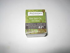 2 x 30ml ANTIPODES Kiwi Seed Eye Cream with Avocado Carrot Kiwiseed Borage Oil