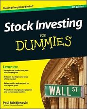 Stock Investing for Dummies� by Paul Mladjenovic (2013, Paperback)