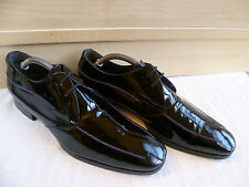 Paul Smith hi shine patent leather derby UK 6.5 40.5 pointed toe Made in Italy 7