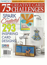 PAPER CRAFTS, 75 CREATIVE CARD CHALLENGES, 2013 ( SPARK YOUR CREATIVITY ! )