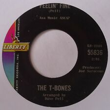 THE T BONES ~ NO MATTER WHAT SHAPE rare ROCKABILLY rocker 45 on LIBERTY