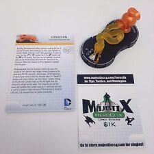 [Ramy] Heroclix War of Light set Ophidian (Orange Lantern) #063 Chase w/card!