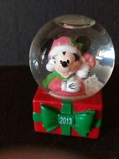 Disney Christmas Holiday Mini Mickey Snow Globe JC Penney Store Giveaway 2013