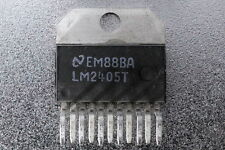National Semiconductor LM2405T Monolithic Triple 7ns CRT Driver