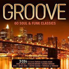 GROOVE (60 Soul & Funk Classics) 3 CD SET (2016)