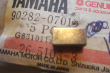 YAMAHA IT250  IT400  TY250  GENUINE  NOS  CRANK  STRAIGHT  KEY - # 90282-07019