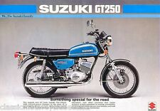 Suzuki GT250 GT250A Tanque DECAL set