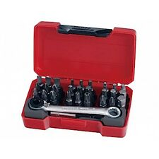 "TENG TOOLS TM029 POCKET 29 PIECE 1/4"" DRIVE SOCKET AND BIT SET * PROMO *"