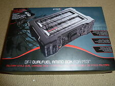 PLAYSTATION 3 PS3 DUALFUEL AMMO BOX DUAL CONTROLLER USB CHARGER DOCK CRATE NEW!