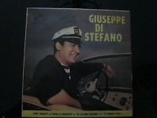 """GIUSEPPE DI STEFANO """"CORE 'NGRATO-TORNA A SURRIENTO-TU CA NON..""""E.P.  ITALY'59"""