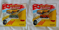 MATCHBOX SIZE, 1960's MARX - HONG KONG. DIECAST JEEPS, IN MINT BLISTER PACKS - .