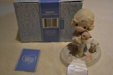 2008 PRECIOUS MOMENTS HOLDING ON TO HOPE ST. JUDE HOSPITAL FIGURINE 830051