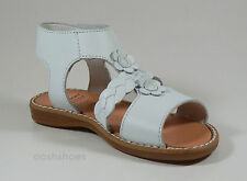 Pablosky Girls White Leather Sandals UK 8.5 EU 26 US 9 081200 RRP £40.00