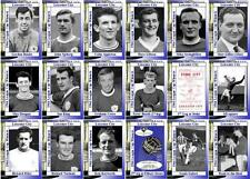 Leicester City 1964 Football League Cup final winners trading cards