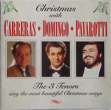 CHRISTMAS With The 3 TENORS CD VG Condition 1995 Sony Carreras Domingo Pavarotti