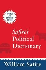 Safire's Political Dictionary-ExLibrary