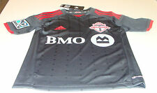 2014 Toronto FC MLS Soccer Football Youth  Jersey Onyx Clima Cool S 3rd Alt