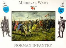 Medieval Norman Infantry 16 Soldiers 1/32 Scale 54mm Plastic A Call To Arms #36