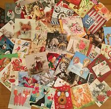 10 Mixed paper napkins collections scrapbooking craft or decoupage FREE SHIPPING