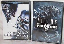 DVD - AVP Alien vs Predator 1+2  - FSK 18 - UNCUT!