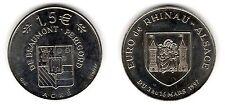 Rhinau-Beaumont, 1,5 euro, 1997 - Euros temporaires des villes