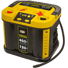Stanley FatMax 450 Amp Car Battery Jump Box Starter w/ Air Compressor Pump Light