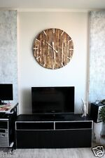 Pallet Wood Wall Clock ''Rue'' Art Industrial Vintage Rustic Retro Shabby Chic
