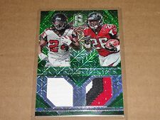 2015 Spectra DEVONTA Freeman TEVIN Coleman 3 color Jersey SP/25 Atlanta FALCONS