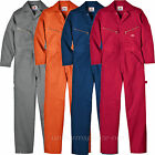 Dickies Coveralls Mens LONG SLEEVE Cotton Work, Mechanic Coveralls 4870 Cotton