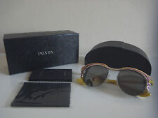 Genuine Designer Prada Women SPR600 52*17 JAY-7W1 140 3N yellow dixie sunglasses