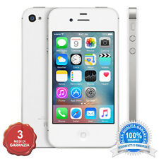 APPLE IPHONE 4S BIANCO 8GB ORIGINALE + ACCESSORI + 3 MESI GARANZIA GRADO B