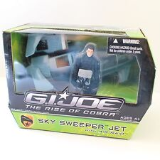 "G.I. JOE ""THE RISE OF COBRA"" - SKY SWEEPER JET WITH AIR RAID - RARE GI"