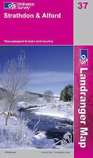 Strathdon and Alford -- OS Landranger Map 37 (NEW folded sheet map, 2007)