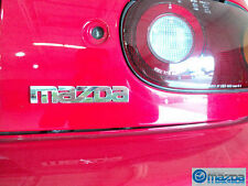 MAZDA MX-5 MIATA  1990-1997 NEW OEM REAR CHROME MAZDA EMBLEM LOGO