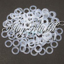 White Rubber O-Ring 150pcs Key Cap Switch Dampeners For Cherry MX Replace Part G