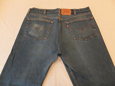 Levi's 501XX Straight Leg Shrink To Fit 38 x 27 Made In USA Men's Jeans 501 XX