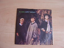 "A-ha: Cry Wolf 7"": 1983 UK Release: Picture Sleeve"