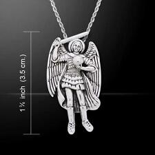 Archangel Raguel .925 Sterling Silver Pendant by Peter Stone