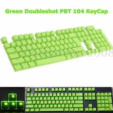 104pcs Key cap Capuchon vert Doubleshot Clavier touches Pour Cherry MX Keyboard
