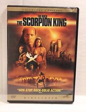 The Scorpion King (DVD, 2002, Widescreen) The Rock DVD Movie